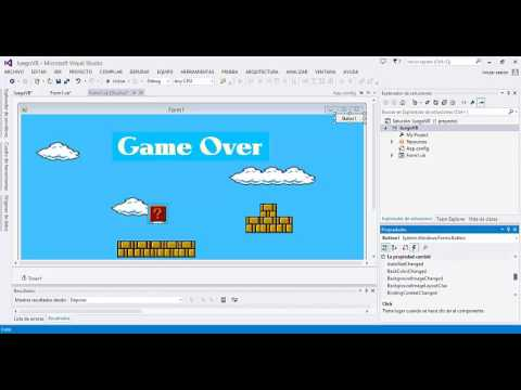 Super Mario Bros en Visual Basic