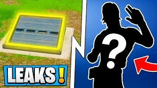 *NEW* Fortnite 5.3 Leaks! | Secret Skin Found, Bunker, Tomato Event!