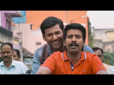 ACP Tiger New South Film Comedy Seen In Hindi Dubbed Hero Vishal