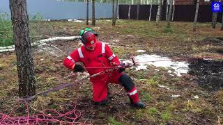 Обзор и тест веревочной лебедки Максимка от ТМ КроК / Manual rope winch test