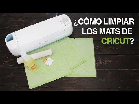 ¿Cómo limpiar los mats de Cricut y hacerlos pegajosos? How to clean your mats
