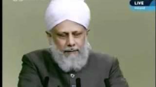 Проповедь Хазрата Мирзы Масрура Ахмада (17-09-10) часть 4