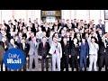 High school photo show dozens of students giving a 'Nazi salute'