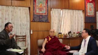 秦伟平专访尊者达赖喇嘛:习近平应推行政治改革,中国缺一场弘扬爱心慈悲心的文化大革命