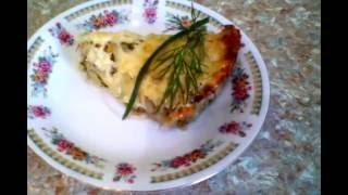 Запеченые кабачки с картошкой и мясом под сыром - очень вкусно!