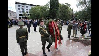 В. Красносельский почтил память героев, павших в Отечественной войне народа Абхазии  30.09.17
