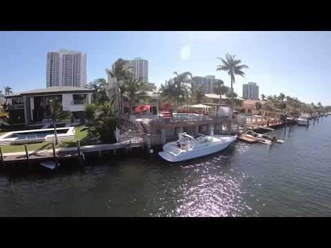 Drone Golden Isles long version Hallandale beach Florida 2018