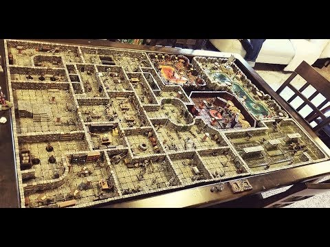A Tour of My Dwarven Forge Dungeon!