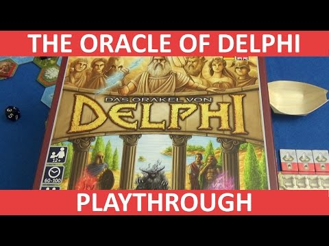 The Oracle of Delphi - Full Playthrough - Part 1