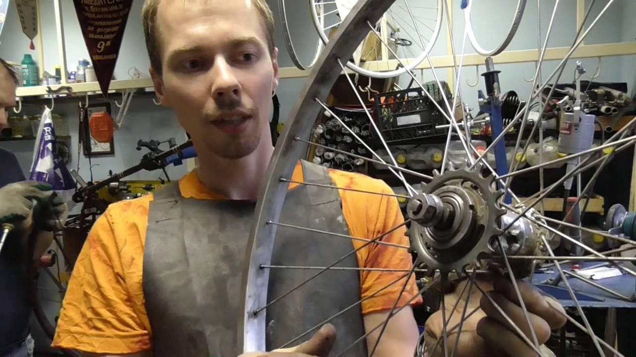 Готовим велосипед ЗИС для съёмок фильма