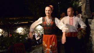 アキーラさん堪能②ブルガリア・伝統民族舞踊!Bulgarian Folk dance in Bulgaria