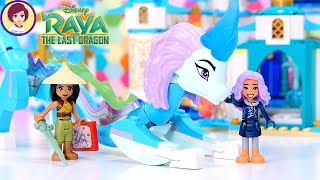 Lego Disney Raya and Sisu Dragon Build & Review