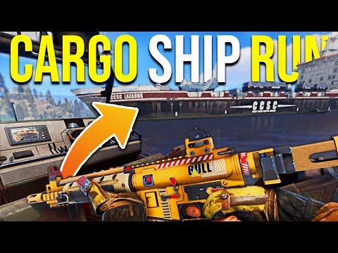 RUST CARGO SHIP RUN FOR END GAME LOOT (+Rust Jackpot Raids) Rust Vanilla+ Survival Gameplay | S14-E9 thumbnail