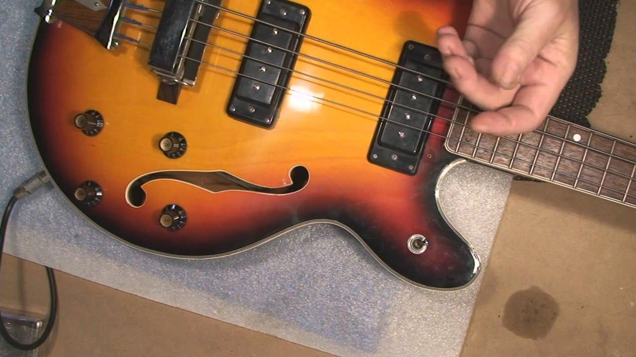 aria bass guitar model 5120 repair youtube. Black Bedroom Furniture Sets. Home Design Ideas