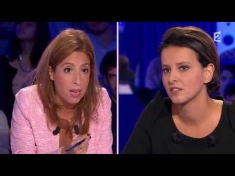 Najat Vallaud Belkacem - On n'est pas couché 25 octobre 2014 #ONPC