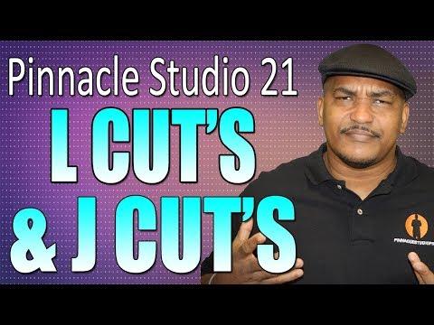 Pinnacle Studio 21 Ultimate   L Cut and J Cut Tutorial