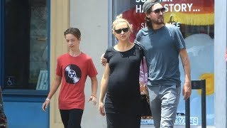 EXCLUSIVE - Pregnant Kate Hudson Prepares To Welcome New Daughter Soon