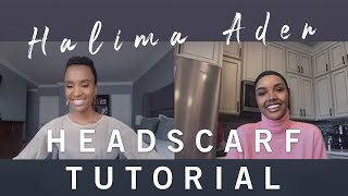HALIMA'S HEAD SCARF **TUTORIAL**