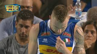 Volleyball world championship 2018 Italy vs Japan 09 09 2018 No Tech Pauses