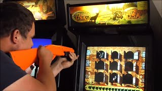 Playing A Deer & Turkey Hunting  2in1  Arcade Game - With A Special Guest
