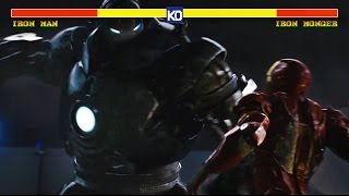 Iron Man vs Iron Monger | MCU Street Fighter - Round 1
