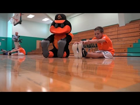 Educaton Spotlight-Laurel Nokomis School-Orioles Health & Fitness Challenge