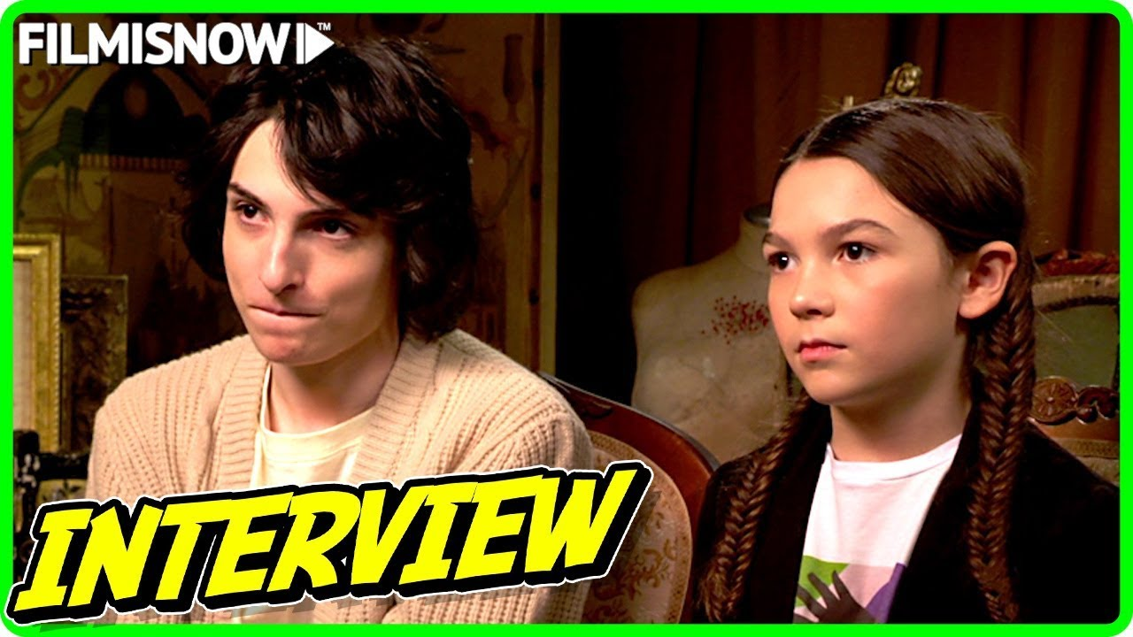 Finn Wolfhard & Brooklynn Prince Interview for THE TURNING