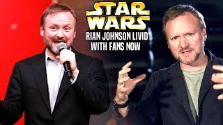 Rian Johnson Is LIVID With Fans Now! (Star Wars Explained)