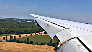 Singapore Airlines Boeing 777-300ER HEAVY LANDING at Munich Airport