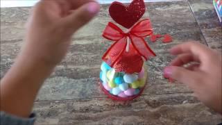 14 de febrero un chocoregalo dulceros para vender con pet ok MDulcecreacion