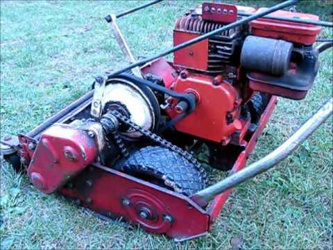 Cooper Klipper Power Reel Lawn Mower Youtube
