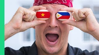 Balut! Philippines VS Vietnam (Who does it better?)