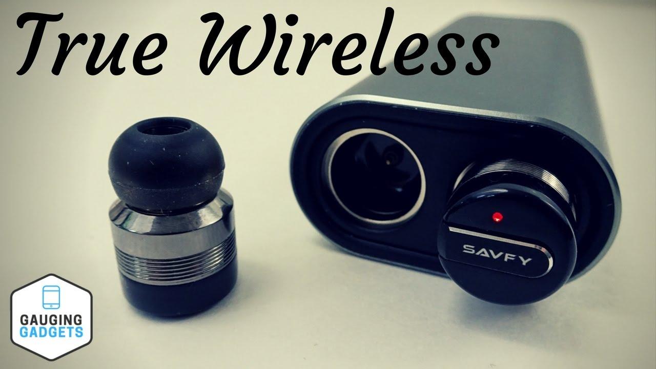 c55f6532cb0 Savfy True Wireless Headphones Review - Truly Wireless Bluetooth Earbuds -  BTD0158