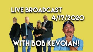 Watch the April 17th Live Show with Bob Kevoian as guest!