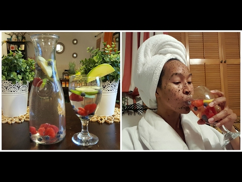 DIY Spa at Home: 3 Fruit Infused Spa Water Recipes