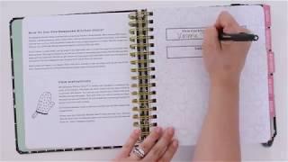 Personalized kitchen recipe & memory cookbook
