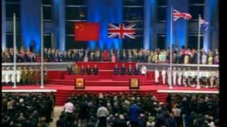 香港回歸交接儀式 hong kong handover ceremony 1997 hq