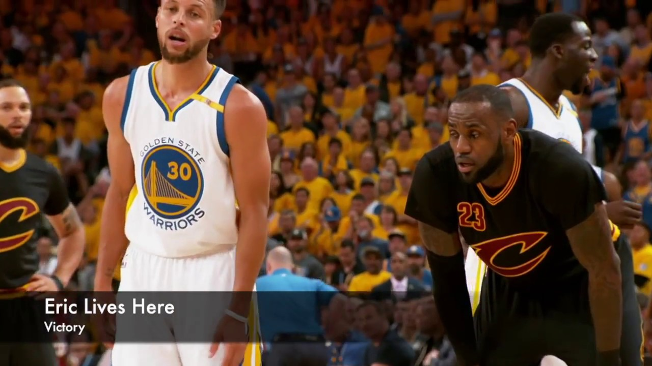 "nba finals 2018 promo: warriors vs. cavs (ft. ""victory"" by eric"