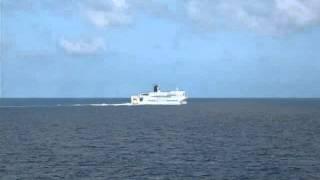 2015年9月26日 新日本海フェリー「あかしあ」から見た「はまなす」