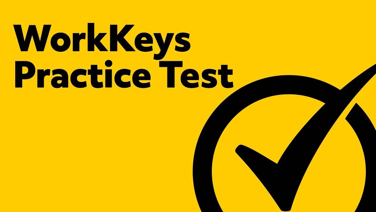 Workkeys Practice Test Youtube