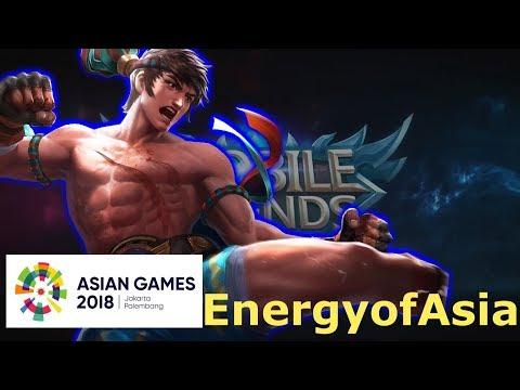 Meraih Bintang Versi Hero Mobile Legends - Via Vallen Asian Games 2018 #EnergyOfAsia [Parody]