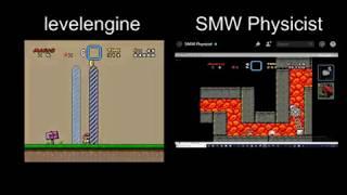 SMW Randomizer race vs SMW Physicist