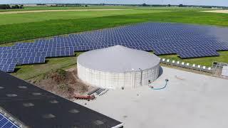 6668 Hanwha Q Cells zonnepanelen bij boer Boontjes in Nieuw Annerveen I Tenten Solar Zonnepanelen
