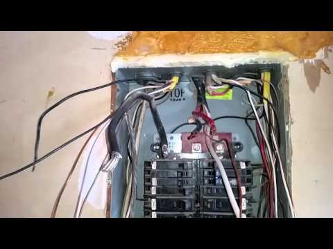 How To Do A Residential Electrical Panel Change