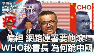 偏袒 網路連署要他滾!WHO秘書長 為何跪中國- 李四端的雲端世界