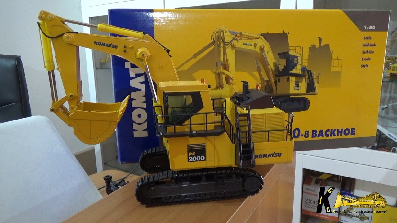 Komatsu PC2000-8 Mining Excavator 1:50 by Nzg Model Review