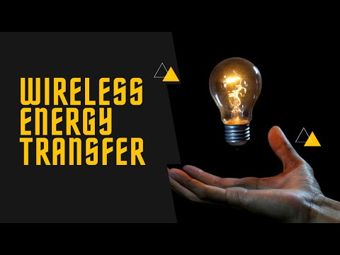 How wireless power transmission works | Simple wireless power transmission project!