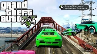 gta 5 online death race 8000 4160 rp 4680 fun custom race gta v multiplayer