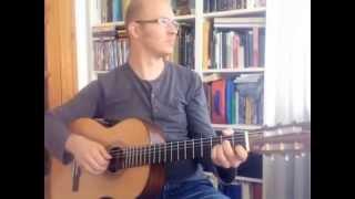 Lidt i Fem - Acoustic Guitar Cover