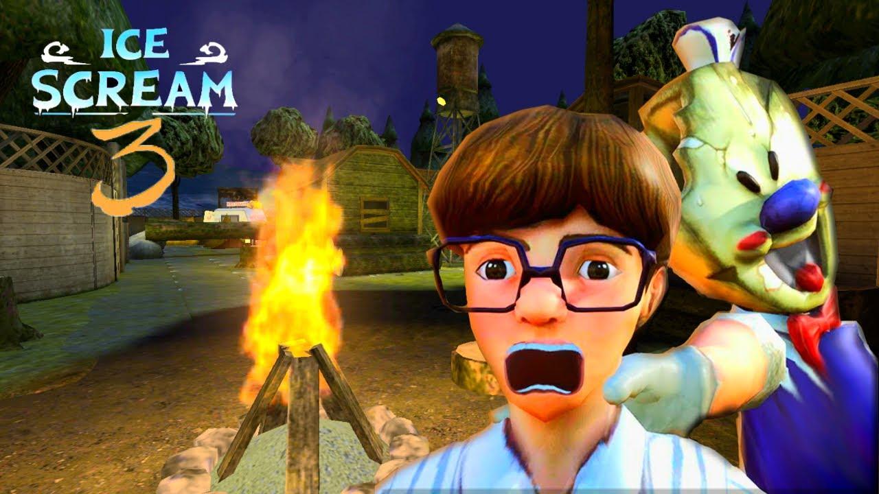 ВЫШЛА НОВАЯ ИГРА ICE SCREAM 3 Обновленная игра МОРОЖЕНЩИК 3